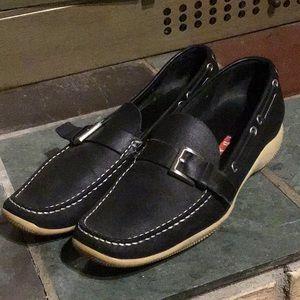 Prada Women's Slip on Loafers Size 39 Black
